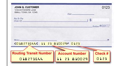 routing transit number