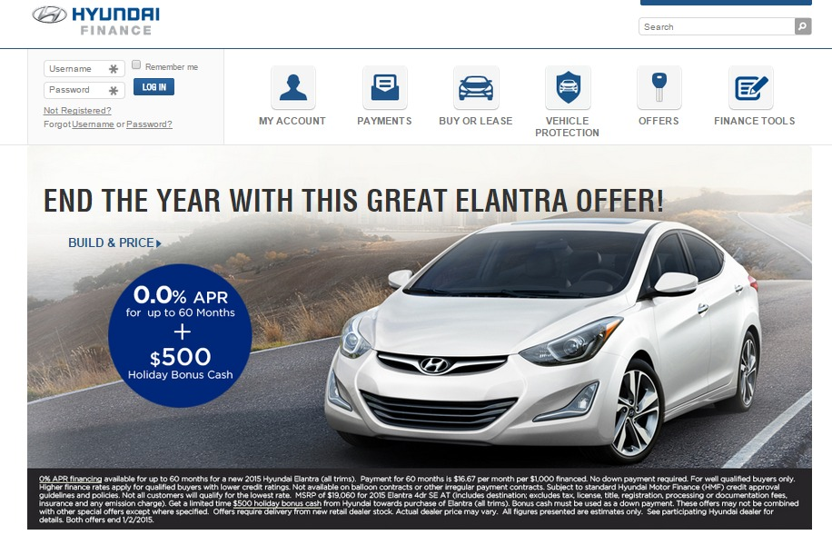 hyundai motor finance overnight address