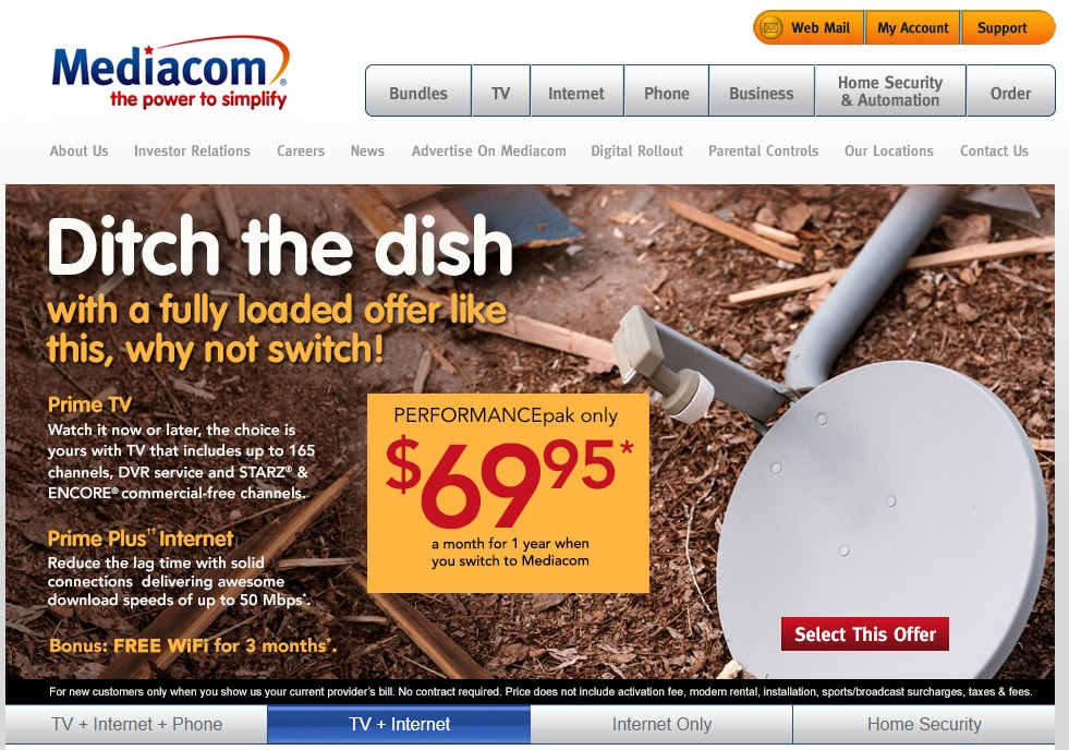 Mediacom cable quick bill pay sciox Image collections
